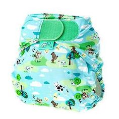 Bright Totsbots Peenut White Reusable Washable Waterproof Wrap Size 2 9 To 35lbs F...