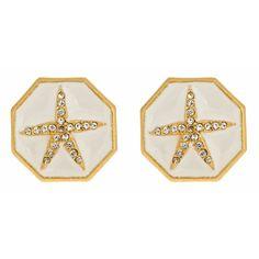 Enamel Starfish Earrings | Fornash