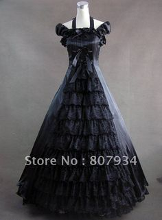 Free-shipping-Custom-Order-Southern-Belle-Civil-War-Lolita-Gown-Dress-Prom-Party-dress-Victorian-Brocaded.jpg (482×656)