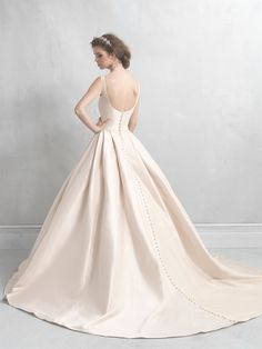 Allure Bridals : Madison James Collection : Style MJ05 : Available colours : White, Ivory, Champagne (back)