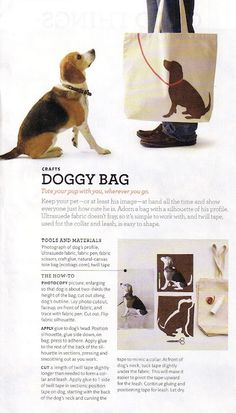 doggy bag.. making this!