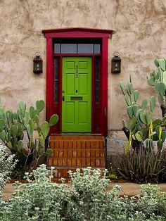 Green Door by Lucinda Walter