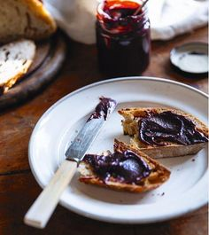 Chocolate and Raspberry Jam - The Happy Foodie