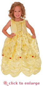 Belle Princess Dress Up Costume  WASHABLE and soft!!