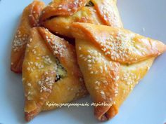 Greek Recipes, Vegan Recipes, Cooking Recipes, Greek Appetizers, Appetizer Recipes, Greek Pita, Greek Pastries, Graduation Party Foods, Savory Muffins