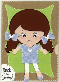 """great little """"back to school"""" spinner card"""