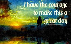 Everyday Affirmations: Daily Affirmations 7 May 2015