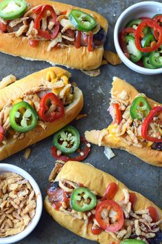Bacon Wrapped Cheese Stuffed Hot Dogs with Crispy Onions and Jalapenos - hot dogs - HotDog Wrapped Hot Dogs, Bacon Wrapped Hotdogs, Dog Recipes, Beef Recipes, Cooking Recipes, Burger Recipes, Sausage Recipes, Recipies, Hamburgers