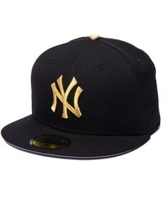"""New York Yankees """"Your Airness"""" Metallic Gold Edition 5950 Fitted Hat"""