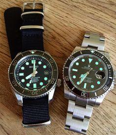 Seiko marinemaster 300, Rolex Submariner Cool Watches, Unique Watches, Wrist Watches, Seiko Mechanical Watch, Seiko Marinemaster, Rolex Submariner No Date, Cheap Hoodies, Seiko Watches, Luxury Watches For Men