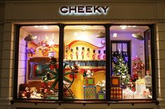 Vidriera Navidad 2010 - Cheeky