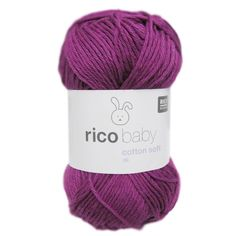 Rico Baby Cotton Soft Dk - Yarn , Black Sheep Wools