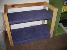 IKEA Hackers: Bunk Beds for Dolls or Kitty Cats