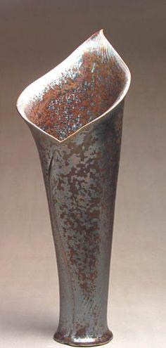Fireworks Pottery Vase - Near Joseph, Oregon