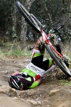 why roadies shouldn't ride mtb…