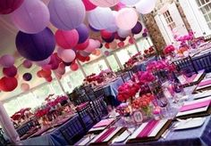 Pink and purple wedding, inspired by Kels and Kendall Bear