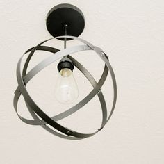 14 DIY Lamps & Chandeliers Ideas For Decorating On a Budget | DIY Roundup - Part 3