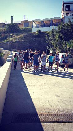 24 Settembre. Alcuni ragazzi trascorrono la mattinata a Calarossano. #camposcuola