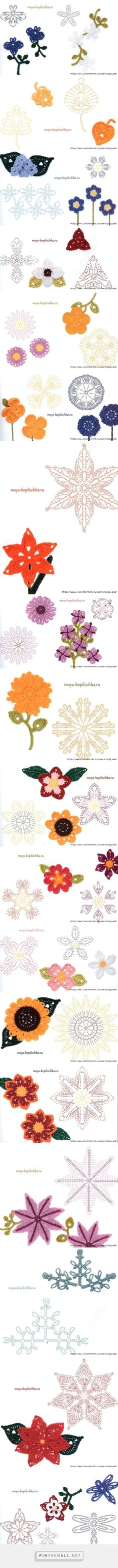 fiori e foglie - created via http://pinthemall.net