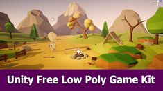 Unity Free Low Poly Thirdperson Game Kit Free Unity Assets, Low Poly Games, Unity 3d, Game Assets, Animation, Kit, Painting, Painting Art, Paintings