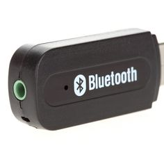 USB Wireless Bluetooth 3.5mm Music Audio Car Handsfree Receiver Adapter