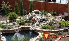 Chcete v záhrade skalku? 35 prekrásnych nápadov, ktoré určite oceníte! Rock Garden Design, Fountain, Yard, Patio, Outdoor Decor, Home Decor, Garten, Homemade Home Decor, Terrace