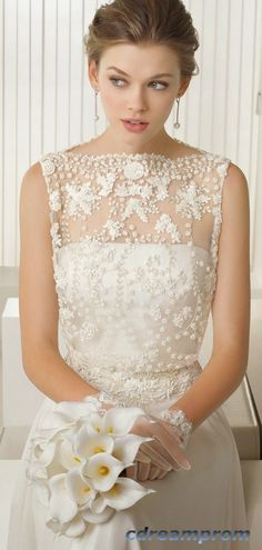 fashion wedding dress lace dress