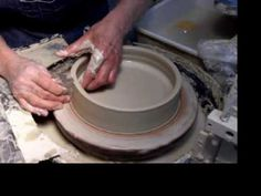 How to throw a plate on a pottery wheel - The Ceramic School