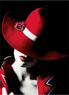 Oh I love Red Hats..................