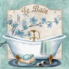 Useful Walk-in Shower Design Ideas For Smaller Bathrooms – Home Dcorz Decoupage Vintage, Vintage Paper, Vintage Images, Vintage Posters, Vintage Bathtub, Restroom Design, Walk In Shower Designs, Frame Crafts, Paint Designs