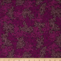 Art Gallery Elements Nature Ripe Plum from @fabricdotcom  From Art Gallery, this cotton print is perfect for quilting, apparel and home decor accents.  Colors include.  Art Gallery Fabric features 200 thread count of finely woven cotton.
