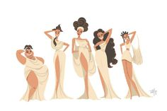 Stefanny Harya: The Muses Hercules Muses, Hercules Disney, Disney And Dreamworks, Disney Pixar, Walt Disney, Disney Fanatic, Disney Addict, Black Girl Art, Black Women Art