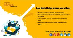 #DigitalIndya facilitates you the #bestservices which helps you to boost up and bring #immediatevalue to your business. http://digitalindya.com/