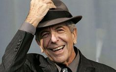 Leonard Cohen. Dance me to the end of love. I <3 Leonard Cohen music. He is super talented.