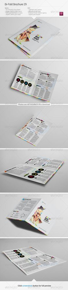 Travel Brochure by GFXTemplate Travel Brochure Simple and clean - company information template