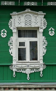 Kоломна. Russian architecture. Window.