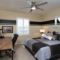 Teen Boy Blue Bedroom Design, Pictures, Remodel, Decor and Ideas - page 13