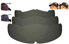 946678f5c58 3Pk. Black Manta Ray Baseball Caps Crown Inserts For Low Profile Caps
