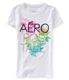 f9e2b94840 Floral Gradient Aero Graphic T - Aeropostale Aeropostale