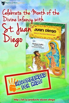 The story of Saint Juan Diego, to whom the Blessed Virgin appeared and miraculously left behind her image on his tilma, is vividly told with colorful, full-page Illustrations and exciting text for children ages 4 through 9.