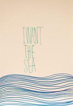 I want the sea by .:Lelahel:.