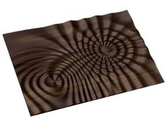 Decorative abstract 3D relief op-art sculpture model for CNC