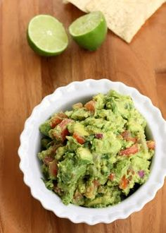 Ingredients: 4 ripe avocados 1/2 cup red onion, diced finely 2 roma tomatoes, seeded and diced finely 1/4 – 1/2 cup cilantro, chopped finely 1 lime, juiced 1 teaspoon minced garlic salt and pepper …
