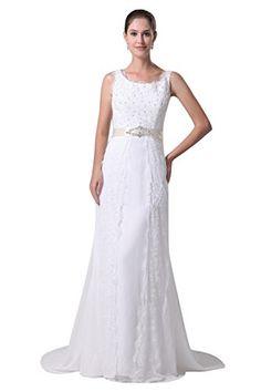 Zrdress Trumpet Sleeveless Satin Lace Appliques Bridal Dresses Formal Womens Wedding Gowns Custom Plus Size US6 Zrdress http://www.amazon.com/dp/B00Z0CO6DA/ref=cm_sw_r_pi_dp_wPIKvb1SSJY3A