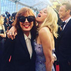 Susan Sarandon et Naomi Watts sur le tapis rouge. (Cannes, 11 mai 2016.)