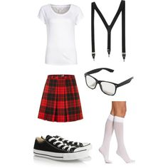 Nerd costume nerd costumes simple pleasures and charlotte russe diy costume nerd by silvermist20 on polyvore solutioingenieria Image collections