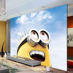 Minion Bedroom On Pinterest Minion Room Despicable Me Bedroom And Boy Girl Bedroom