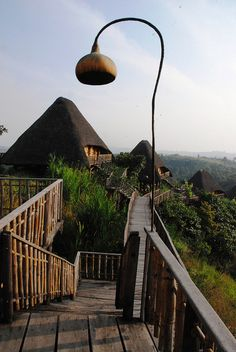 visitheworld: Kyaninga Lodge in Kibale Forest, Uganda (by annemarieweeden).