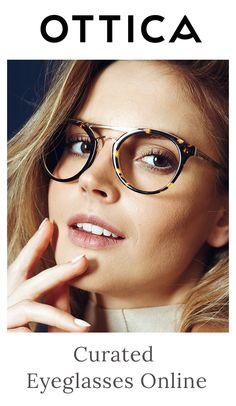 Quality Prescription Eyeglasses at Online Prices l Ottica Look Fashion, Fashion Beauty, Fashion Outfits, Art Nouveau Wallpaper, Rose Colored Glasses, Eye Glasses, Fasion, Eyewear, What To Wear