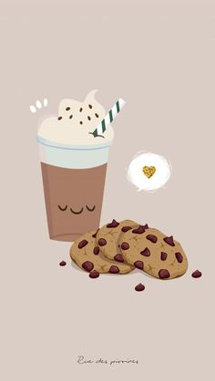 Cute wallpaper for all them Starbucks lovers Wallpapers
